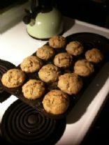 Banana Nut Craisin Muffins