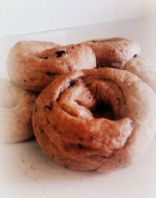 Bread Machine Blueberry Bagels