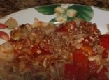 MamaCD's Cabbage Easy Cheesy Beef Casserole