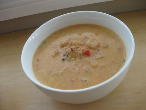 Curried Coconut and Chickpea Soup (October 2011)