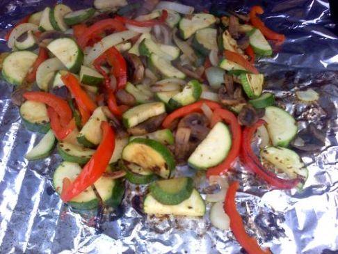Grilled Veggie Wraps