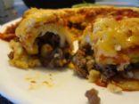 Panqueca de Carne Moída (Ground beef crepes)
