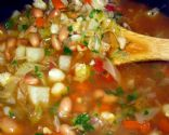 Kari's Canary Bean and Cabbage Soup