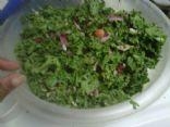 Kale Avocado Salad w/ Cranberry Nut Mix