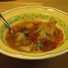 Cabbage Soup low  in Sodium, fat and calories