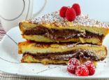 Overnight Nutella Stuffed French Toast