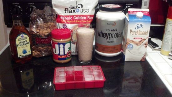 Shaycarl & Katilette healthy shake with protein punch