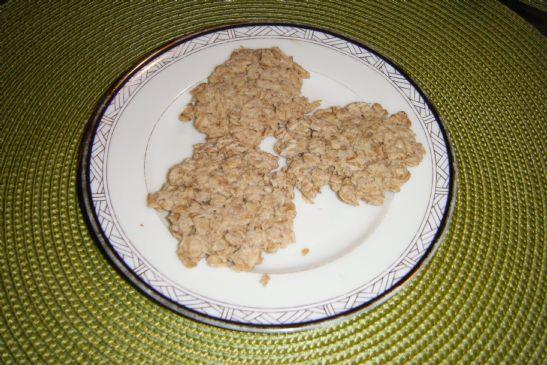 No Roll Oatmeal Crackers