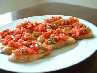 Bruchetta Toast