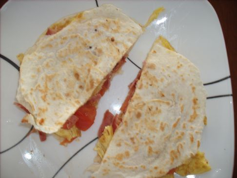 Easy Breakfast quesadillas