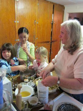 wonderful wholewheat waffles--Julie
