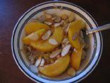 Peachy Almond Oatmeal (Losingjess)
