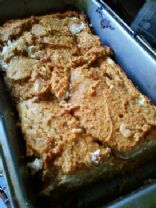 Low Carb, Gluten/Grain-Free Pumpkin and Cream Bread