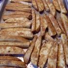 CHS Parmesan Baked Potato Wedges