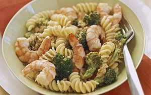 Shrimp & Broccoli Scampi