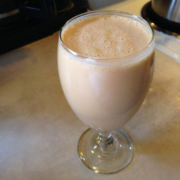 Pumpkin Spice Apple Cider Smoothie