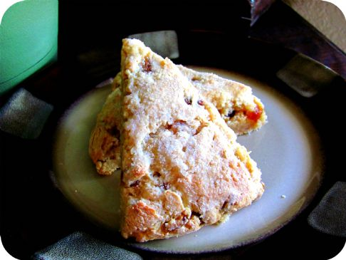 Lemon Date Scones