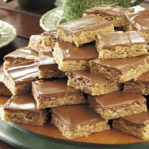 Party Peanut Butter Bars