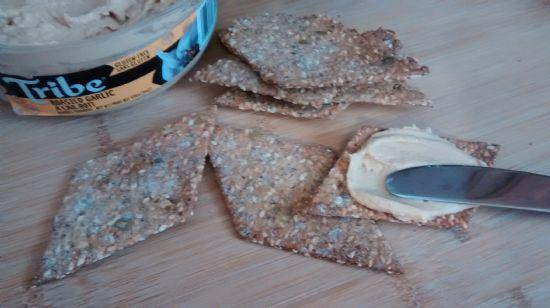 Jan's Sesame Rye Crispbread