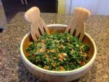 Bon's Kale Salad & Avocado dressing