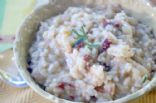Sun dried, wild mushroom risotto