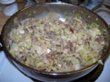 Mixed-up Fried Cabbage