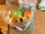 Juice: kale, apple, lemon, ginger