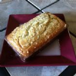 Coconut & Rum Banana Bread with Rum Lime Glaze