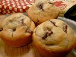 Vanilla Cherry Muffins