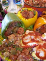 Split the Pot Recipe Contest Finalist: Jambalaya Stuffed Peppers