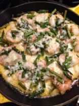 Shrimp and Grits Tart