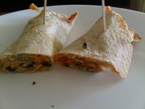 Tortilla Pizza Roll