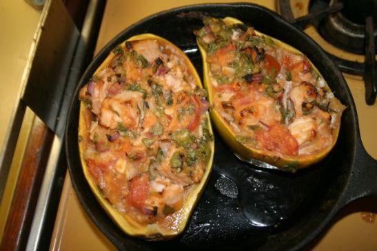 Hawaiian Papaya Ceviche - Baked