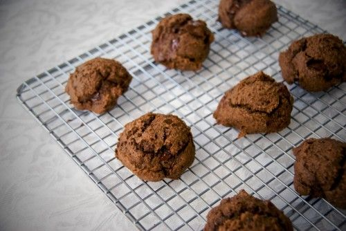 White Bean Double Chocolate Cookies