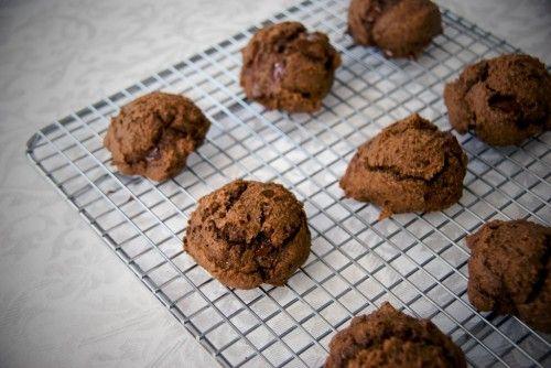 White Bean Double Chocolate Cookies