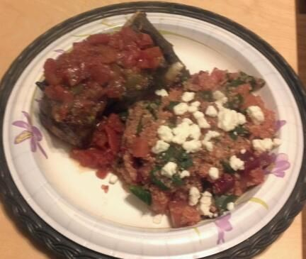 Quinoa with Beets and Beet Greens