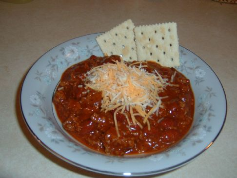 DD's chili