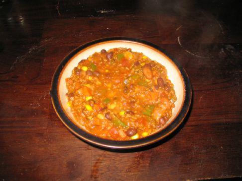 Mama T's Epic Veggie Chili