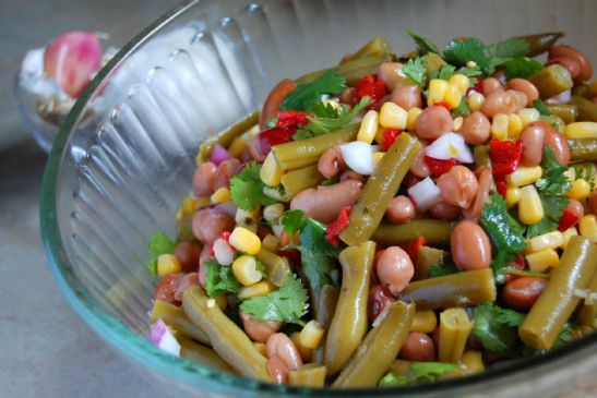 Simple Seven Bean Salad