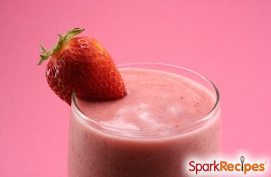 Strawberry and Avocado Smoothie