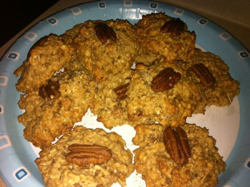 Oatmeal Peanut Butter and Pecan Cookies