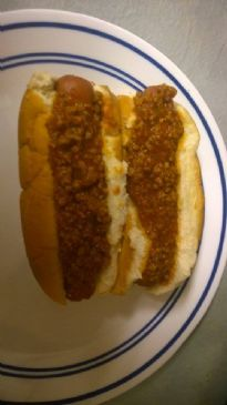 Carrie S Famous Reduced Fat Hot Dog Chili Recipe