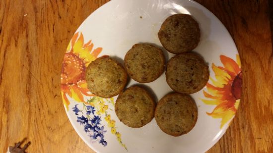 Pecan Pie Muffins - low carb, gluten free, reduced calorie