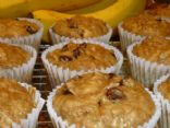 Chocolate Chip Raisin Bran Muffins