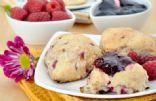 Chef Meg's Raspberry-Lemon Scones