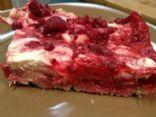 Raspberry Rhubarb Bars