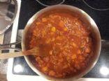Bean Free Turkey Chili