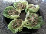 Sauted Tempeh Lettuce Cups (wraps)