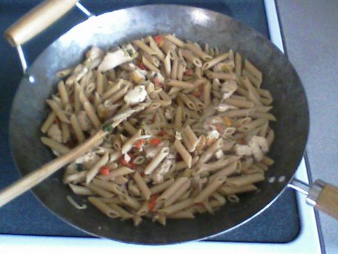 Chicken n Penne Stir Fry