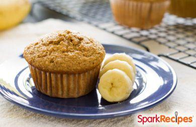 Banana muffins recipe low sugar
